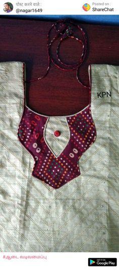 Dress neck Chudithar Neck Designs, Chudidhar Designs, Neck Designs For Suits, Dress Neck Designs, Salwar Suit Neck Designs, Kurta Neck Design, Saree Blouse Neck Designs, Fancy Blouse Designs, Neck Patterns For Kurtis