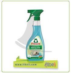 اسپری پاک کننده سطوح آشپزخانه (جوش شیرین) Spray Bottle, Washer, Baking Soda, Cleaning Supplies, Cleaning Agent, Washing Machine, Airstone