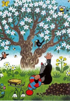 . The Mole, Silk Screen Printing, Kid Spaces, Spring Crafts, Book Illustration, Disney, Fairy Tales, Nostalgia, Snoopy