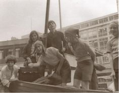 Swallows and Amazons at the Lord Mayor's Show promoting EMI Films in November 1973