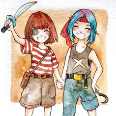 Max and Chloe pirates forever~