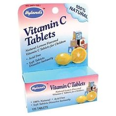 I'm learning all about Hyland's Vitamin C Tablets at @Influenster!