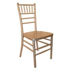 Midas Event Supply (121006) - Legacy Silver Chiavari Ballroom Stack Chair | FoodServiceWarehouse.com