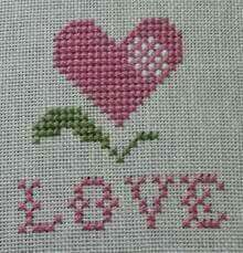 Small Cross Stitch, Cross Stitch Heart, Cross Stitch Cards, Cross Stitch Alphabet, Learn Embroidery, Hand Embroidery Designs, Cross Stitch Embroidery, Embroidery Patterns, Cross Stitch Patterns Free Easy