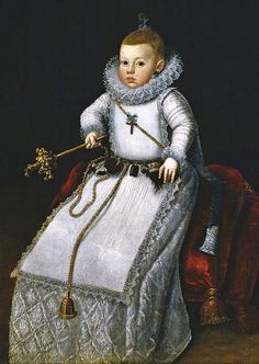 Santiago Morán — Portrait of the Infanta Margarita Francisca, daughter of Philip III, c. 1610 : The Museo del Prado, Madrid, Spain Infanta Margarita, School Portraits, Glamour, Historical Clothing, Historical Art, Antique Clothing, Vintage Children, Adele, Madrid