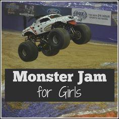 Monster Jam for Girls - Would girls enjoy Monster Jam? | mybigfathappylife.com