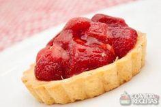 Receita de Tarteletes de morango em receitas de tortas doces, veja essa e outras…