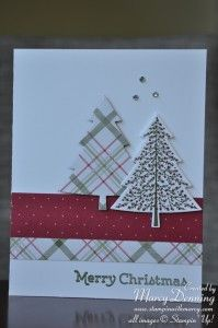 Peaceful Pines, 2015 Holiday Catalogue, Stampin' Up!