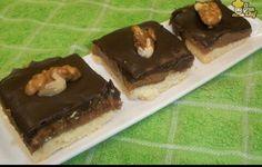 Cuadraditos de chocolate leche nueces #chocolate #milk