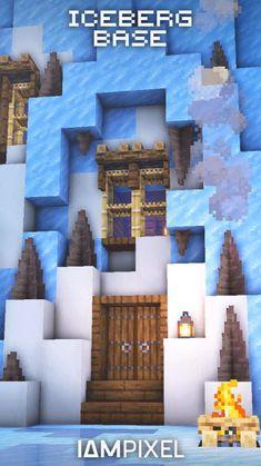 Minecraft House Plans, Cute Minecraft Houses, Minecraft City, Minecraft House Designs, Minecraft Construction, Amazing Minecraft, Minecraft Blueprints, Minecraft Creations, Minecraft Projects