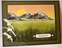 Mountains in the Meadow – Stampin' Up! Card