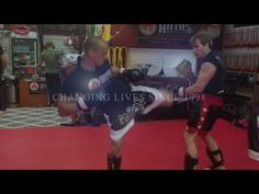Anta's Muay Thai Kickboxing Class in Doral October 2016