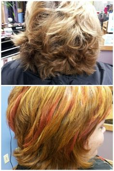Goodbye faded summer highlights and hello autumn!
