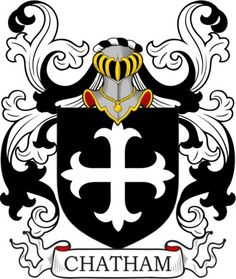 Chatham Family Crest and Coat of Arms