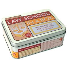 I pinned this Law School in a Box from the Graduation Gifts event at Joss and Main!