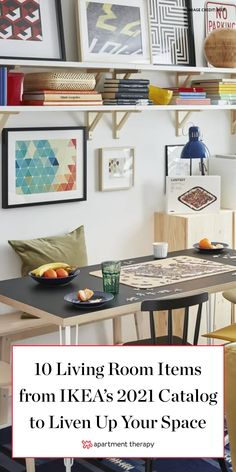 Looking to update your living room on a song? These 10 products will make your living room feel more livable, especially as you hunker down for winter. #IKEA Living Room Throws, Bohemian Living Rooms, New Living Room, Living Room Decor, Bookshelves Built In, Room Color Schemes, Home Decor Inspiration, Design Inspiration, Home Hacks