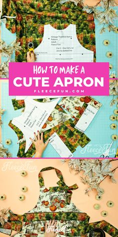 This Free apron pattern and tutorial includeas a pdf pattern and video! Make a vintage style apron that is chic. Apron Pattern Free, Sewing Patterns Free, Sewing Essentials, Cute Aprons, Aprons Vintage, Straight Stitch, Learn To Sew, Just Giving, Sewing Projects