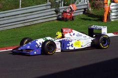 Christian Fittipaldi (Footwork Arrows-Ford V8, FA15)