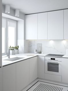 29 Simple and Minimalist Small White Kitchen Ideas
