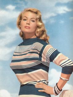 The Golden Age of Retro Living, Comics and Sexy Sci-Fi: Photo Old Hollywood Stars, Old Hollywood Glamour, Vintage Hollywood, Classic Hollywood, Anita Ekberg, Saint Yves, Swedish Actresses, Hollywood Actresses, Vintage Outfits