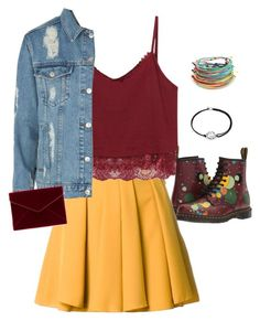 """""""18' today"""" by stone-leblanc ❤ liked on Polyvore featuring Dr. Martens, Guild Prime, Topshop, Rebecca Minkoff, Alex and Ani and Pura Vida"""