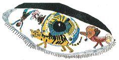 Silmä on sielun peili. Piirrä silmä ja sen sisään asioita, joita sinun päässäsi liikkuu (harrastukset, sinulle tärkeät asiat. yms.).