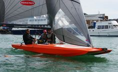 New German Foiling Scow