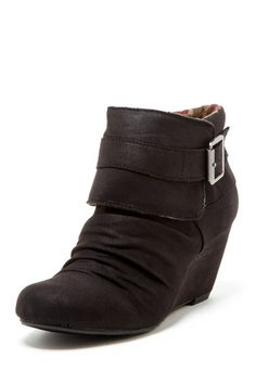 BC Footwear Almanac Wedge Bootie.  Im making my wishlist for the fall