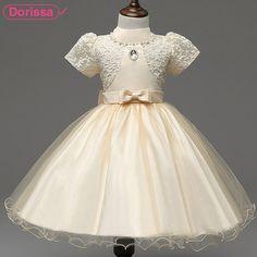 2016 Summer Hot Sale Princess Girls Party Dresses Brand Children Kids Frock Designs Clothing Birthday Wedding Formal Tutu Dress