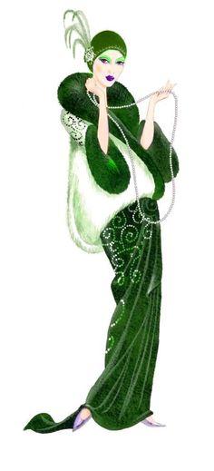 Victor Mclindon - Art Deco figure 1.jpg @ http://advocate-art.com/artist.victor-mclindon#/asset86757