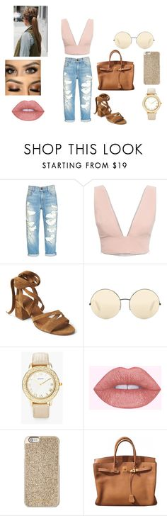 """outfit #5"" by jayda-bug ❤ liked on Polyvore featuring Animale, Victoria Beckham, Chico's, Michael Kors and Hermès"