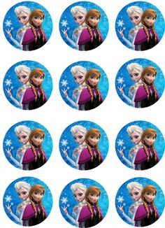 Frozen Edible Cupcake Toppers Set of 12 -- You can find more details by visiting the image link. (This is an affiliate link) Frozen Birthday Invitations, Disney Frozen Birthday, Disney Cars Party, Frozen Theme, Frozen Party, Frozen Cupcake Toppers, Frozen Cupcakes, Frozen Cake Topper, Birthday Cake Toppers