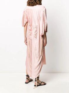 Ann Demeulemeester Panelled Shirt Midi Dress - Farfetch Midi Shirt Dress, Ann Demeulemeester, Mid Length, Kimono Top, Women Wear, Boutique, Clothing, Fashion Design, Shopping