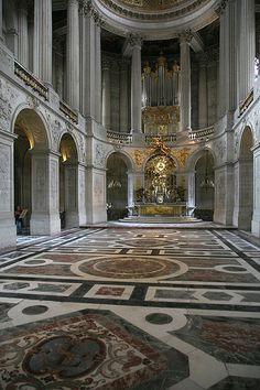 Chateau de Versailles  Royal Chapel - Versailles_23