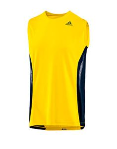 There's more to this sleeveless tee than just good looks -- its sculpted arm openings highlight the work you've been doing, the flatlock seams won't chafe your skin, and the ventilated fabric will keep you dry. Let's see your old fraternity rush shirt do that. ($35, shopadidas.com)   - Esquire.com