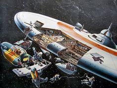 Klaus Bürgle: 1963 Space Station by veloopity, via Flickr