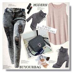 """BUYOURBAG  13"" by ramiza-rotic ❤ liked on Polyvore featuring Gap, Prada, Christian Dior, Bobbi Brown Cosmetics and vintage"