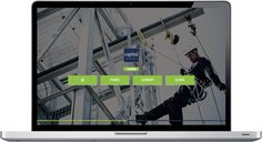 Capital Safety Training website built in Business Catalyst