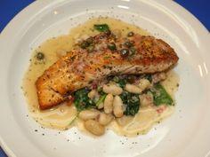 Salmon Piccata Recipe : Robert Irvine : Food Network