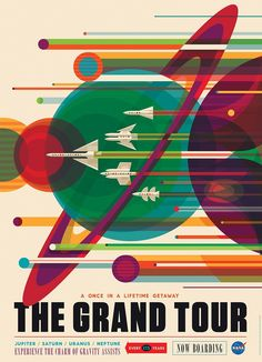 These space tourism posters will make you want to visit space  - BBC Newsbeat