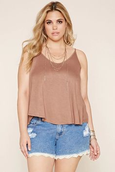 Plus Size V-Back Cami #forever21plus