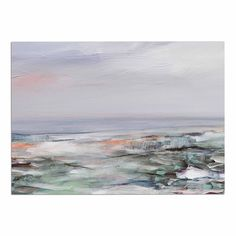 KESS InHouse Iris Lehnhardt 'Coastal Scenery' Pastel Abstract Dog Place Mat, 13' x 18' -- See this great image  : Dog food container