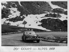 Historic Rally & Classic Race Cars: Alpines Rally ou... Rallyes des Alpes ou... Coupe des Alpes