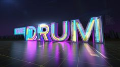 ABC The Drum Opener + Broadcast Package on Behance