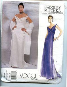 Vobue 2134 American Designer Bridal Gown by VioletCrownEmporium, $8.00