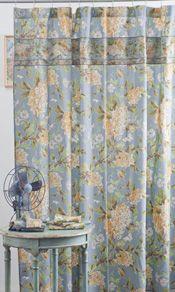Harriet's Hydrangea Shower Curtain