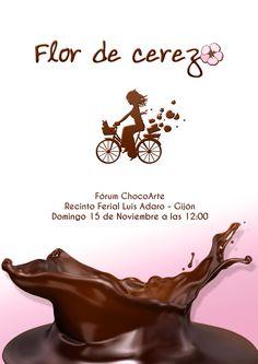 Flor de Cerezo Catering Asturias en ChocoArte Gijón