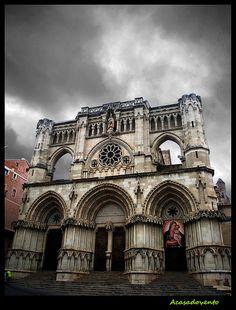 Catedral de Cuenca by Acasadovento, via Flickr Iglesias, Notre Dame, Facade, Medieval, Spanish, Culture, City, Gallery, Building