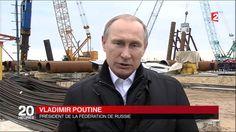Vladimir Poutine, son pont vers la Crimée