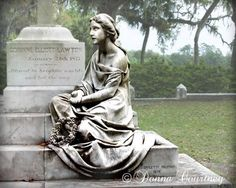 The Decorated House: ~ Angel Bonaventure Cemetery, Savannah